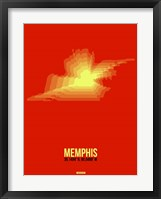 Framed Memphis Radiant Map 4