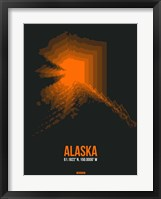 Framed Alaska Radiant Map 6