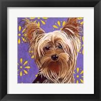 Framed Dlynn's Dogs - Ringo