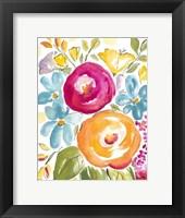 Framed Flower Delight I
