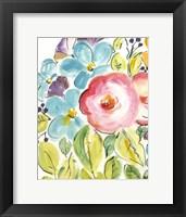Framed Flower Delight II