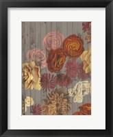 Danza del Sol I Framed Print