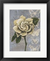 Blissful Gardenia I Framed Print