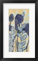 Chromatic Floral Mix I Framed Print