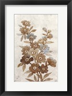 Wildflower Branch I Framed Print