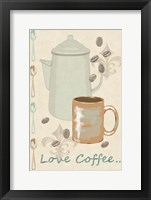 Framed Love Coffee