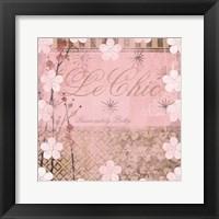 Framed Haute in Pink I