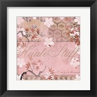 Framed Haute in Pink III