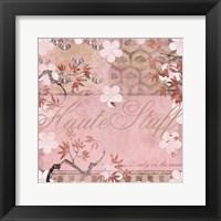Framed Haute in Pink III