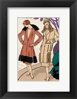 Framed Vintage Couture XII
