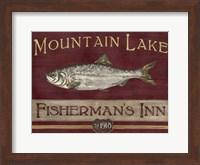 Framed Lodge Sign II
