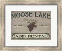 Framed Lodge Sign IV