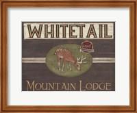 Framed Lodge Sign VI