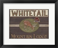 Framed Lodge Sign VI
