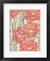 Summer Gardens I Framed Print