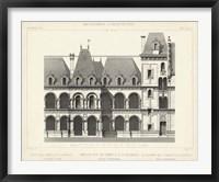 French Facade I Framed Print