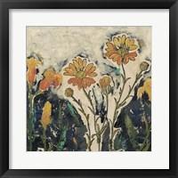 Floral Cutout II Framed Print