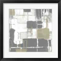 Neutral Quadrants II Framed Print