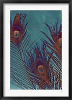 Luxe Plumes I Framed Print
