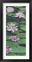 Tranquil Lilies II Framed Print