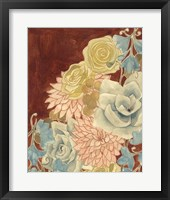 Sunkissed Bouquet I Framed Print