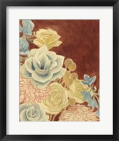 Sunkissed Bouquet II Framed Print