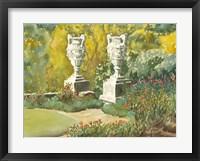 Framed Plein Air Garden V