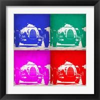 Framed Audi Autounion Pop Art 1