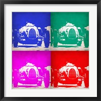 Framed Audi Autounion Pop Art 1
