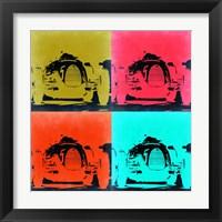 Framed Audi Autounion Pop Art 2