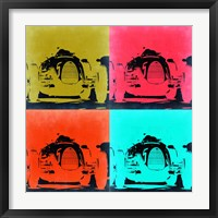 Framed Audi Autounion Pop Art 2