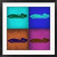 Framed Classic Ferrari Pop Art 1