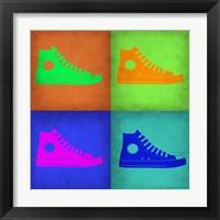 Framed Shoe Pop Art 1
