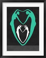 Framed Green heart