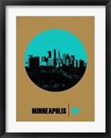 Framed Minneapolis Circle 1