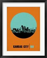 Framed Kansas City Circle 1