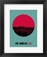 Framed Los Angeles Circle 1