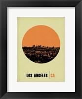Framed Los Angeles Circle 2