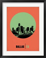 Framed Dallas Circle 2