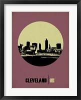 Framed Cleveland Circle 1