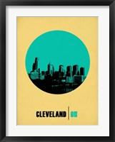 Framed Cleveland Circle 2