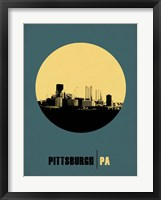 Framed Pittsburgh Circle 1