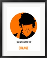 Framed Orange 1