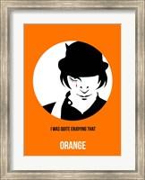Framed Orange 2