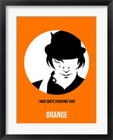 Framed Orange 2