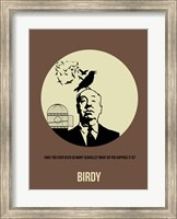 Framed Birdy 1