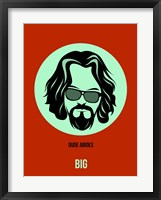Framed Dude Abides 2