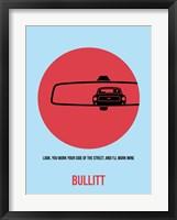 Framed Bullitt 1