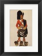 Framed Argyll & Sutherland Highlanders