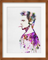 Framed Fight Club Watercolor